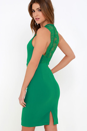 Ready Set Green Lace Midi Dress at Lulus.com!
