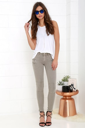 Blank NYC Skinny Taupe Jeans at Lulus.com!
