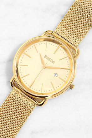 Breda Linx Gold Watch at Lulus.com!