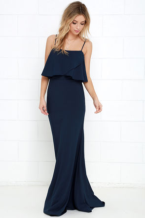 From a Fantasy Black Maxi Dress at Lulus.com!