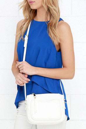 Crossbody and Soul Ivory Purse at Lulus.com!