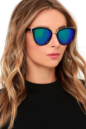 Stun and Go White Mirrored Sunglasses at Lulus.com!