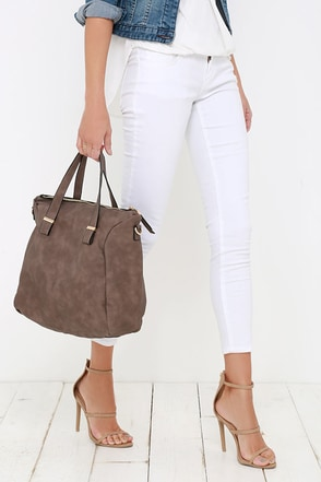 Noonday Sun Brown Handbag at Lulus.com!