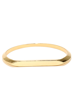 Fill in the Blank Gold Bracelet at Lulus.com!