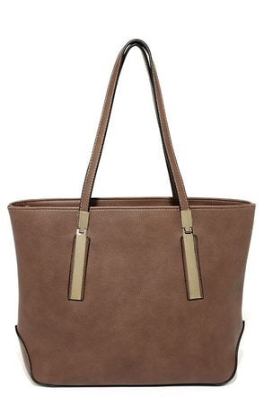 Prima Donna Girl Brown Tote at Lulus.com!