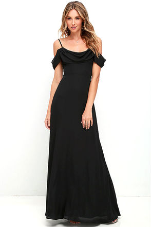 Reflective Radiance Navy Blue Maxi Dress at Lulus.com!