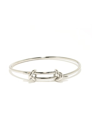I Kid You Knot Gold Bracelet at Lulus.com!