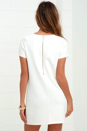 Find The Perfect Green Blue White Or Black Shift Dress