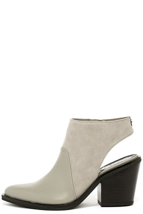 Circus by Sam Edelman Carly Cashmere Suede Cutout Booties at Lulus.com!