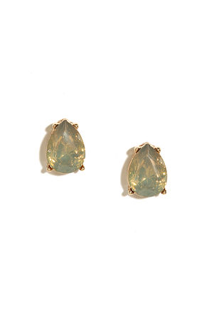 Stone Fortress Amber Rhinestone Earrings at Lulus.com!