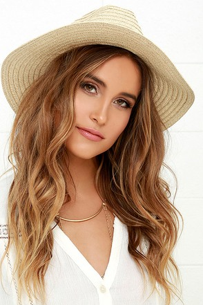 San Diego Hat Co. Here to Stay Beige Straw Hat at Lulus.com!
