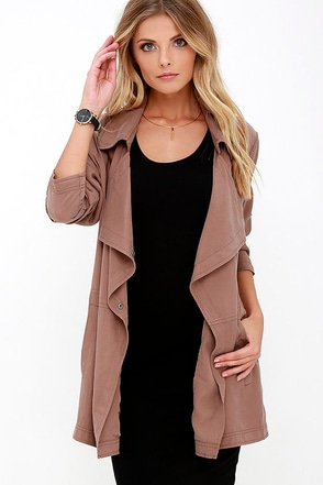Gentle Fawn Fountain Washed Brown Jacket at Lulus.com!