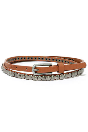 Sturdy Spirit Tan Belt at Lulus.com!