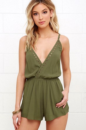 Second Look Black Romper at Lulus.com!