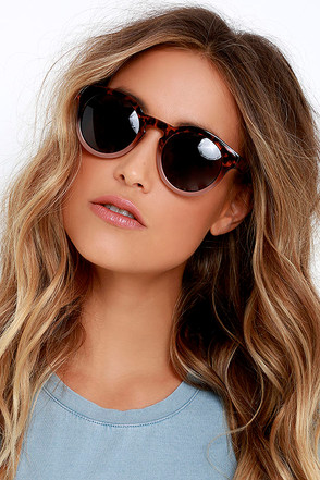 Cold Brew Brown and Tortoise Sunglasses at Lulus.com!
