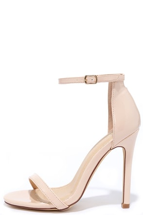 VIP Ticket Gold Ankle Strap Heels at Lulus.com!
