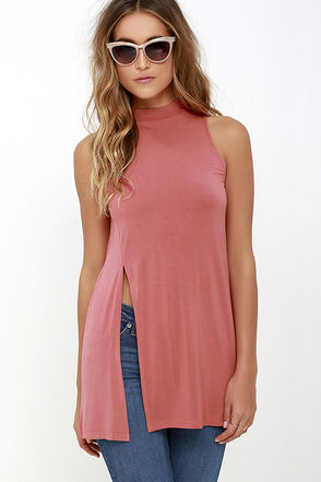 On Repeat Rose Pink Tunic Top at Lulus.com!