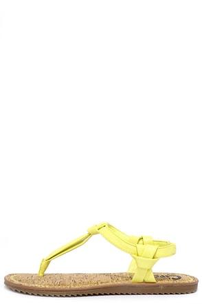 Circus by Sam Edelman Shaw Jute Gold Thong Sandals at Lulus.com!