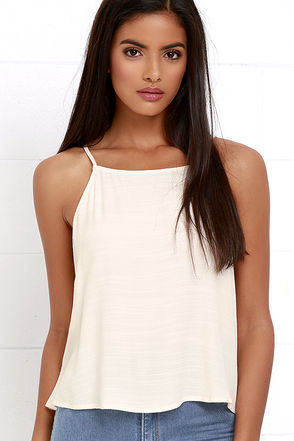 To Each Her Own Cream Top at Lulus.com!