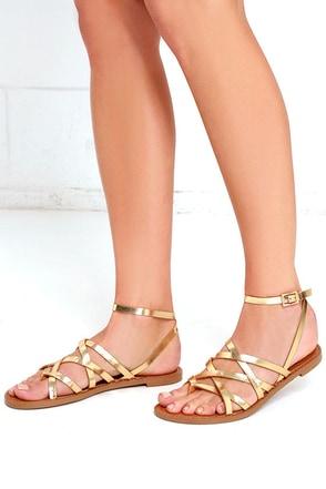 Chinese Laundry Gia Mushroom Grey Thong Sandals at Lulus.com!