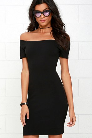 Me Oh My Coral Red Off-the-Shoulder Bodycon Dress at Lulus.com!