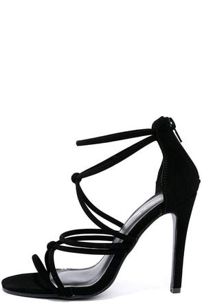 Standard of Elegance Nude Nubuck Dress Sandals at Lulus.com!