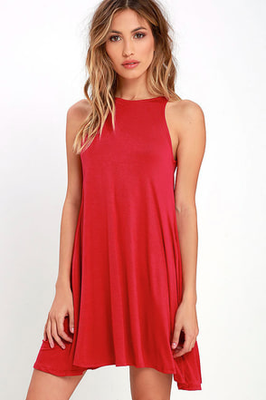 Tupelo Honey Berry Red Dress 1