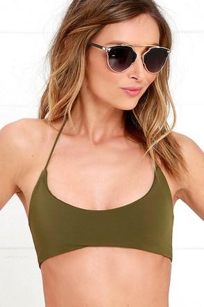 Kaohs Gypsy Ivory Bikini Top at Lulus.com!