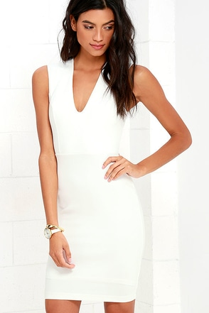 Love the Limelight White Dress at Lulus.com!