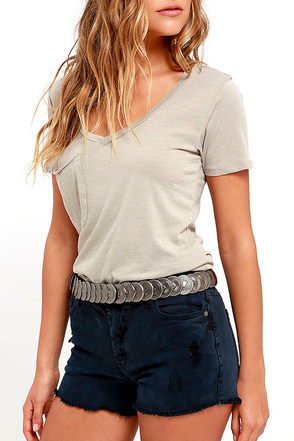 Wild Spirit Brass Belt at Lulus.com!