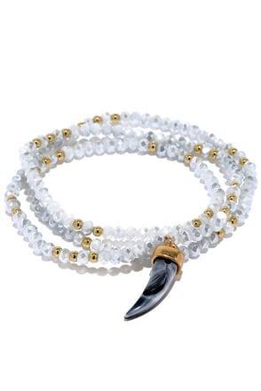 Dazzling Finale Ivory Wrap Bracelet at Lulus.com!