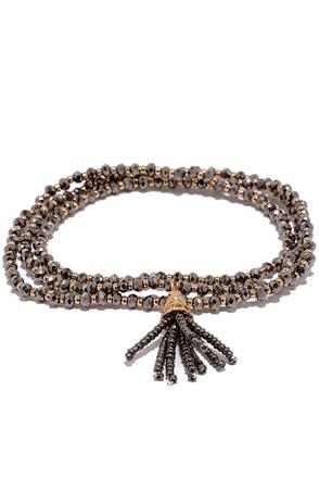 Impress the Empress Silver Wrap Bracelet at Lulus.com!