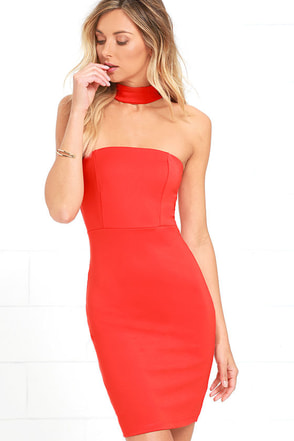 Unexpected Twist Ivory Bodycon Dress at Lulus.com!