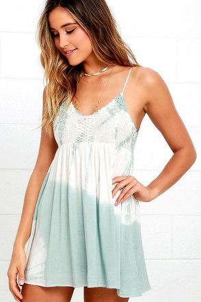Love You a Yacht Peach Tie-Dye Dress at Lulus.com!