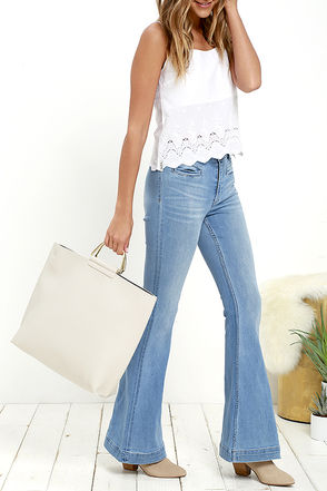 Toss Up Navy and Ivory Reversible Tote at Lulus.com!