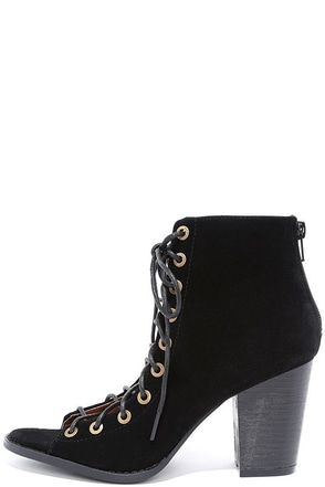 Wild World Beige Suede Lace-Up Booties at Lulus.com!