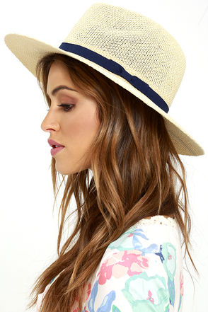 State of Mind Beige Fedora Hat at Lulus.com!