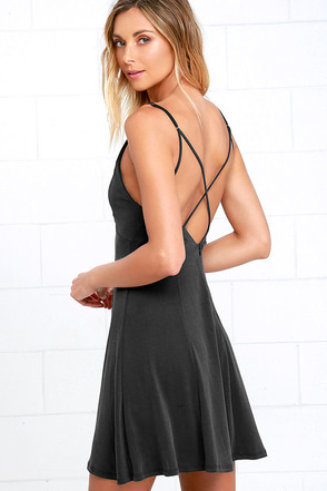 Friday Favorite Washed Black Dress at Lulus.com!