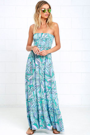 Tropical Tango Coral Orange Floral Print Maxi Dress at Lulus.com!