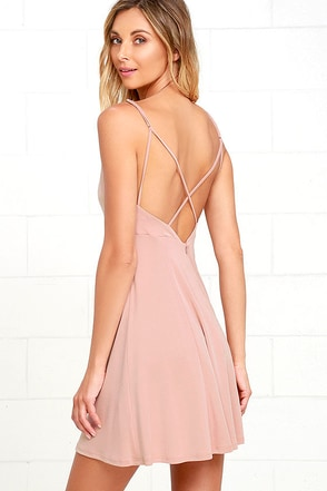 Friday Favorite Mauve Dress at Lulus.com!