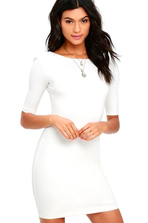 Point of Inflection Light Pink Bodycon Dress at Lulus.com!