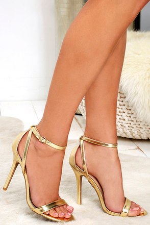 LULUS Remi Black Snakeskin Ankle Strap Heels at Lulus.com!