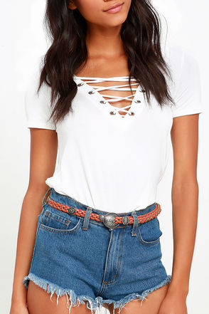 All I've Envisioned Tan Belt at Lulus.com!