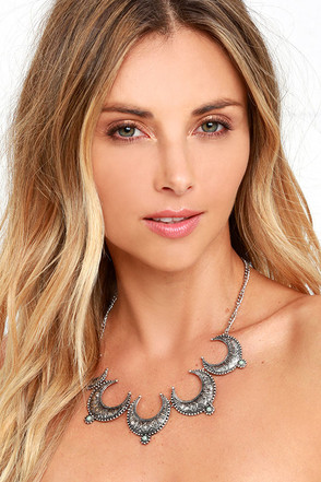 Cache Creek Silver Necklace at Lulus.com!
