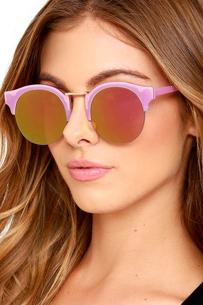 Live Your Life Beige and Gold Mirrored Sunglasses at Lulus.com!