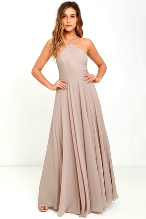 Everlasting Enchantment Light Peach Maxi Dress at Lulus.com!