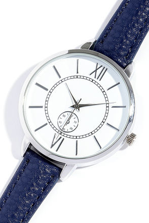 Time and Place Silver and Beige Watch at Lulus.com!