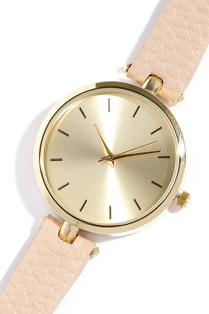 Life and Times Rose Gold and Grey Watch at Lulus.com!