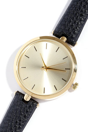 Life and Times Gold and Brown Watch at Lulus.com!