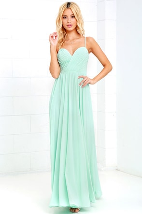 Nod and Wink Mint Green Maxi Dress at Lulus.com!